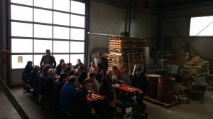 Bäckerinnung Ahrweiler besucht Hermann Heuft GmbH